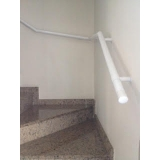 corrimão de ferro para escada preço Parelheiros