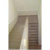 corrimão de ferro para escada Mendonça