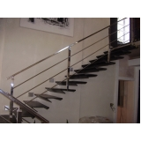 corrimão escada de concreto Cubatão