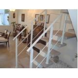 corrimão escada de ferro Campos do Jordão