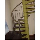 corrimão para escada cromado Aclimação