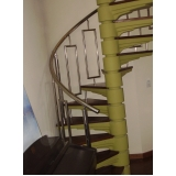 corrimão para escada cromado Guaianases