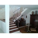 corrimão para escada da sala preço Bauru