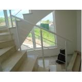 corrimão para escada de ferro preço Biritiba Mirim