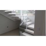 corrimão para escada de prédio orçar Água Funda
