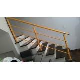 corrimão para escada de sobrado Vila Curuçá