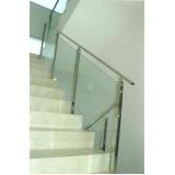 corrimão para escada interna preço Luz