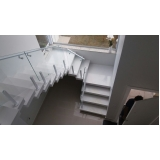 corrimão para escada pré moldada preço Perus