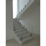 corrimão para escada pré moldada Vila Mariana