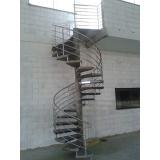 corrimão para escadas caracol Jardim Europa
