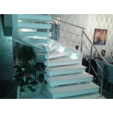 corrimãos de aço inox para escada caracol Vargem Grande Paulista