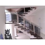 corrimãos de aço inox para escadas Jardins