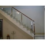 corrimãos de madeira para escada interna Barueri