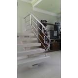 corrimãos para escada da sala Rio Claro