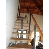 corrimãos para escada de madeira Butantã