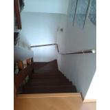 corrimãos para escada de vidro Vila Maria