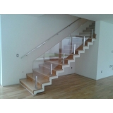 corrimão para escada pré moldada