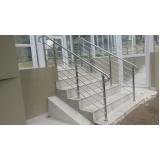 corrimãos para escadas em sp Aeroporto