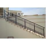 fabricante de corrimão para escadas