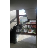 corrimões de vidro com botão Jardim Iguatemi