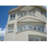 corrimões de vidro para varandas Capão Redondo