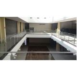 empresa de instalação de corrimão de aço inox com vidro Luz