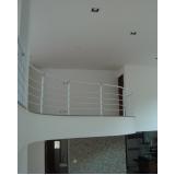 fábricas de corrimão de ferro para escada interna Santos
