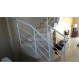 fábricas de corrimão para escadas Ilhabela