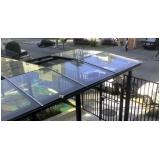 fazer orçamento de cobertura de vidro área externa Parque do Carmo