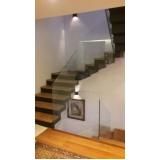 guarda corpo escada vidro preços Guarulhos