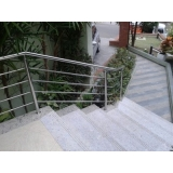 guarda corpo vidro escada Embu das Artes