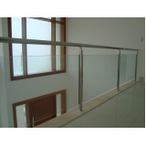 Instalação de Corrimão de Aço Inox e Vidro