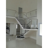 Instalação de Corrimão de Aço Inox para Escadas