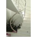 instalação de corrimão de aço inox para escada caracol valores Barra Funda
