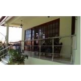 instalação de corrimão de aço inox para escada reta São José dos Campos