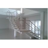 instalação de corrimão de aço inox para escadas valor Campo Limpo