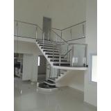 instalação de corrimão de aço inox para escadas valores Jardim São Luiz