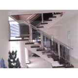 instalação de corrimão de aço inox para escadas Perus