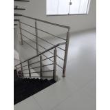 instalação de corrimão de inox para escada Vila Curuçá