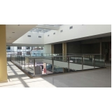 instalação de corrimão de vidro e inox Santa Cecília