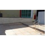 instalação de corrimão e guarda-corpo em aço inox Peruíbe