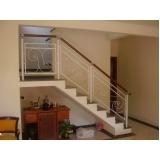 instalação de corrimão para escadas preço Bom Retiro