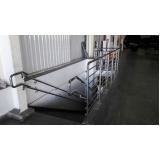 instalação de guarda corpo de escada Sacomã