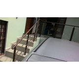 instalações de corrimão de alumínio Caieiras