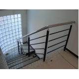 onde encontrar corrimão de ferro para escada caracol Interlagos