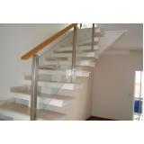 onde encontrar corrimão de madeira para escada interna ARUJÁ