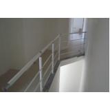 onde encontrar corrimão para escada de ferro Morumbi