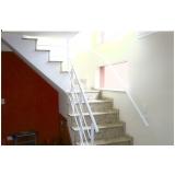 onde encontrar corrimão pintado para escada Pacaembu
