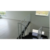onde encontrar fábrica de corrimão de ferro para escada caracol São Caetano do Sul
