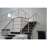 orçamento de corrimão de escada inox Tatuapé